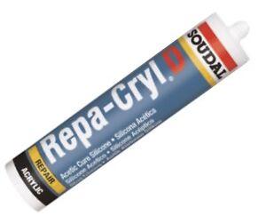 Soudal Repacryl 310ml weiss Rissacryl Acryl körnig Fassadenacryl Strukturacryl