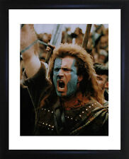 Mel Gibson Braveheart Framed Photo CP0601