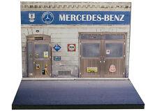 Diorama présentoir Mercedes-Benz - 1/43 - #43-2-A-A-013