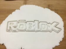 Roblox Sign Cookie Cutter Biscuit, Pastry, Fondant Cutter
