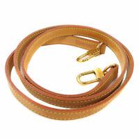 LOUIS VUITTON  J00144 Shoulder strap Nume leather length adjustable parts Nu...