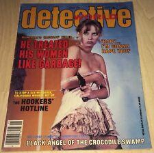 Detective World August 1978 BG/Fine! Lingerie Bad Girl Cover! True Crime