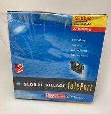 Global Village TelePort 56 Kbps Fax/Modem Internal Model For Windows