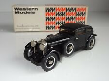 (S)  Western Models white metal BENTLEY 6 1/2 LITRE BARNATO - WMS 32