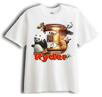 Kung Fu Panda Personalized - Birthday T-Shirt Party Favor