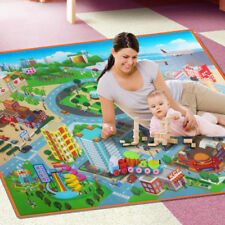 Baby Traffic Route City Road Carpets Play Mat Educational Crawling Map Pad