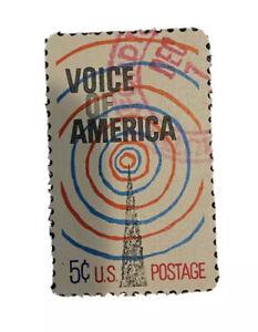 US Scott #1329 - Voice of America - 5c - Used