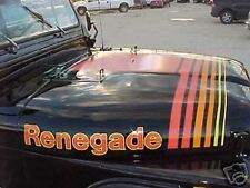 Jeep Decal Kit - 1979 - 80 Jeep Renegade