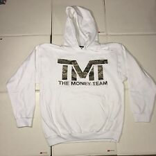 Official TMT Floyd Mayweather Money Team Best Ever White Hoodie Limited M