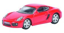 Schuco Edition 1:87 452610900 Porsche Cayman S Rosso Ho Nuovo