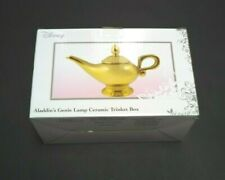 Disney Aladdin Genie Lamp Ceramic Trinket Box For Jewelry And Accessories