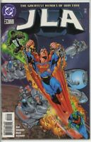 JLA 1997 series # 21 very fine comic book