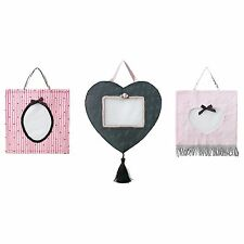 3 New IKEA FANTASIFULL Children Frame Family Wall Fabric Collage Picture Frames