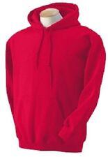 Sudadera con capucha de hombre en color principal rojo