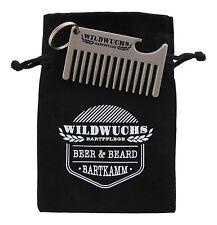 Wildwuchs Bartpflege - Beer & Beard - Bartkamm Schlüsselanhänger Flaschenöffner