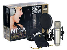 RODE NT1a - Complete Vocal Bundle con Filtro antipop, Supporto Antivibrazioni e