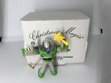 Vintage DISNEY Grolier Buzz Toy Story Christmas Holiday Ornament in Original box