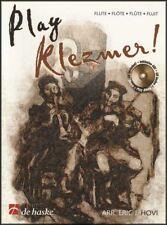 Play Klezmer Flute Sheet Music Book & Play-Along CD