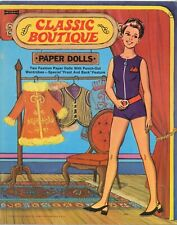 Vntg 1970S Classic Boutique Paper Doll Rare Uncut Lasr Repro No.1 Selr Free S&H