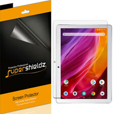 3X Supershieldz Clear Screen Protector for Dragon Touch K10 Tablet 10.1 inch