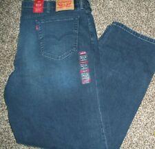 NWT  Mens Levi's 514 Regular Fit Stretch K-Town Jeans  Big Tall 46X34