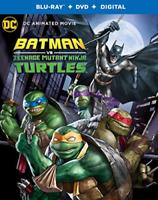 Batman vs. Teenage Mutant Ninja Turtles w/Slipcover (Blu-ray, DVD, Digital) NEW