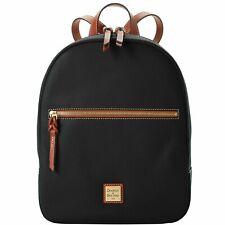 Dooney & Bourke Pebble Grain Small Ronnie Backpack Black R1872 BL