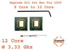  Kit Upgrade 12 Core @3.33 GHZ ( x5680 Xeon ) for Mac pro 4.1 - 2009 8 Core