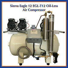 Sierra Dental Products Eagle Oil Less Air Compressor Egl T 12