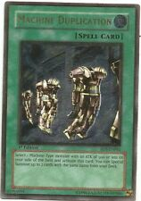 YuGiOh - Machine Duplication RDS-EN041 1st edition  ULTIMATE RARE card - damaged