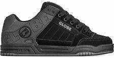 Globe Tilt Iron Black Split Leather Mens Skate Trainers