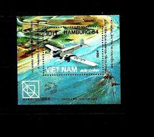 NORTH VIET NAM Sc 1396 NH SOUVENIR SHEET of 1984 - AVIATION