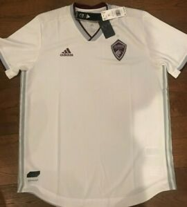 COLORADO RAPIDS 2018-19 ADIDAS AUTHENTIC MLS PLAYER ISSUE SHIRT SOCCER JERSEY XL