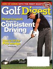 Golf Digest Magazine September 2005 Michael Campbell U.S. Open EX 022316jhe