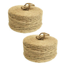 ( 2 Pack ) 350ft. 100% Natural Jute Twine Rope