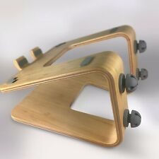 Laptop Stand with Cable Management (Unbranded, Wood, Rain, mStand, Macbook)