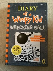 BN-Hardback Diary Of A Wimpy Kid-Wrecking Ball-Fab Gift