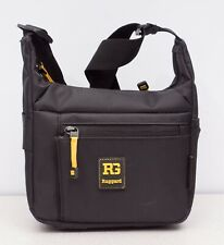 Ruggard Streak 15 Shoulder Camera Bag (Black with Yellow Accenting)