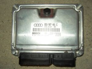 Audi A4 8E B6 2,5TDi Motorsteuergerät Motor Steuergerät 8E0907401C