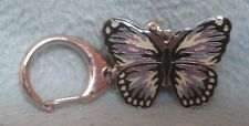 Butterfly Metal Keychain, Travel Souvenir