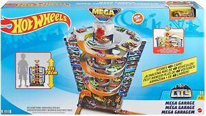 Hot Wheels City Power Mega Garage Parkgarage Spielset + 1 Auto NEU & OVP