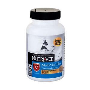 Nutri Vet Multi-Vite Chew Vitimans & Minerals 60Ct