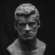 High-Quality Unpainted 140mm Wolverine Bust Figure Model Resin Garage Kit Statue