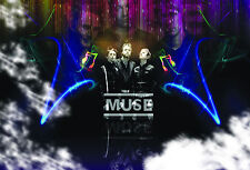 -A3 Size- Muse - Music Group Posters   Concert Song Celebrity Print #20