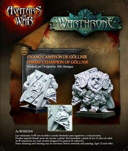 AVATARS OF WAR - AOW68 Dwarf Champion of Göllnir *Warhammer Style*