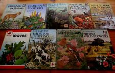 COLLECTION VINTAGE LADYBIRD BOOKS. NATURE AND WILDLIFE THEMES.