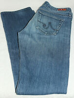 Adriano Goldschmied Women's The Tomboy Relaxed Straight Denim Jeans Size 27R