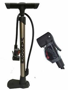 Vandorm Super Lite Bicycle Lightweight Presta Schrader Tyre Track Bike Pump