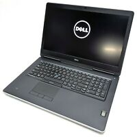 """Dell Precision 7710 17.3"""" 4K IGZO Laptop i7-6920HQ 2.90GHz 4GB RAM No HDD/OS BR5"""