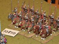 25mm roman era / roman - late cataphracts 12 cavalry - cav (10810)